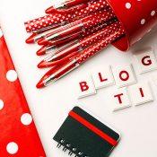Tips om weer te beginnen met bloggen na de vakantie